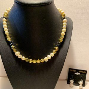 Pearl Necklace Faux Fashion
